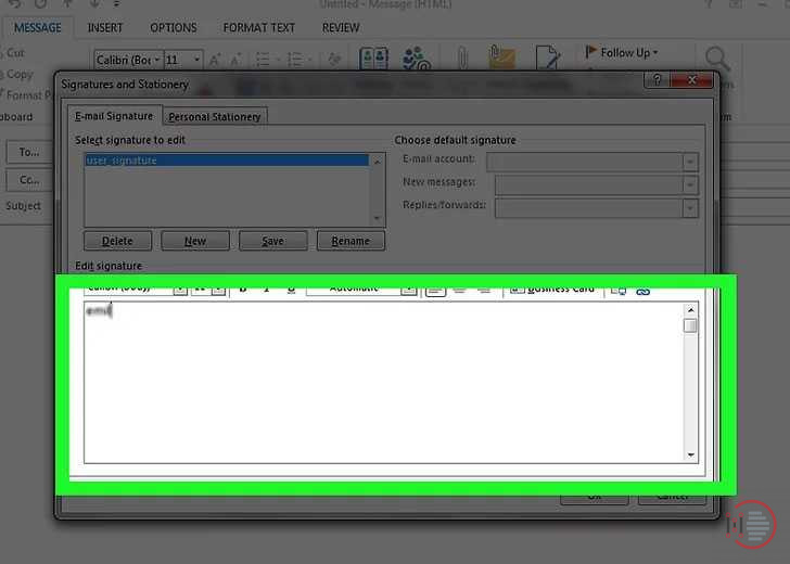 How-to-add-signature-in-Outlook-Account-on-Desktop-image-6