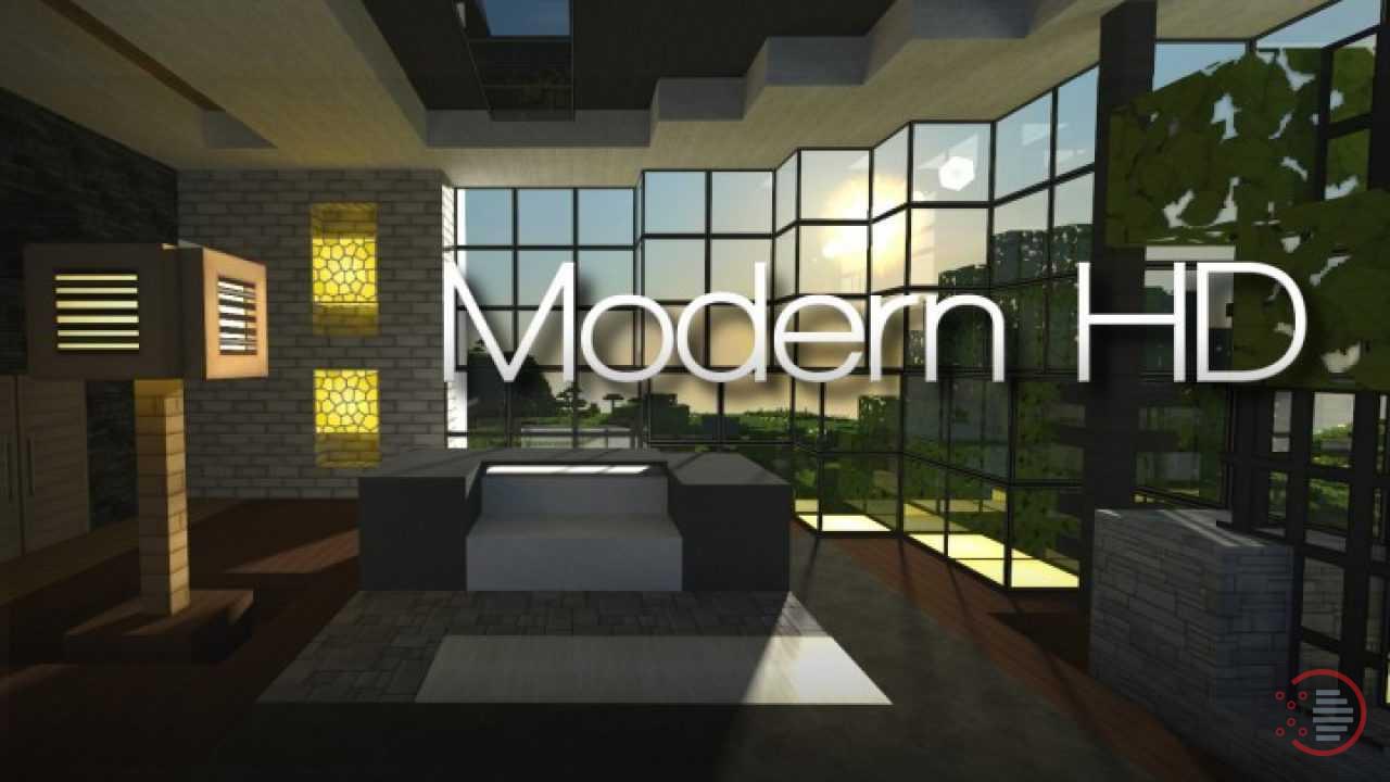 Modern HD minecraft texture resource pack