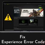 How to Fix GeForce Experience Error Code 0x0003