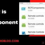 What is the RCP components App on Android devices?
