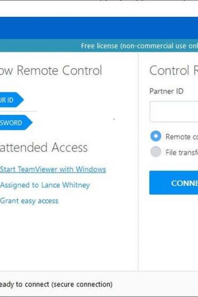 How to remotely access another Computer (using TeamViewer)