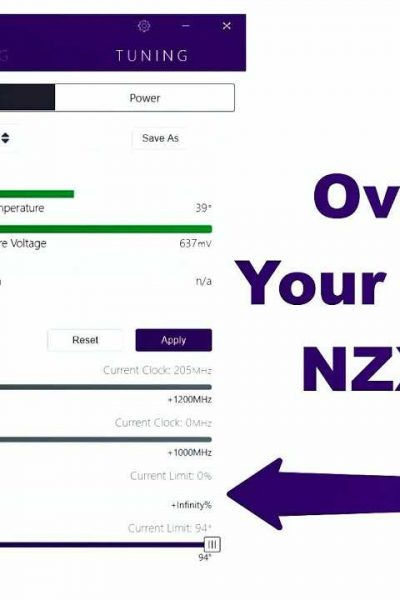 Overclocking a GPU using NZXT's Cam in 3 Steps